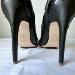GX by Gwen Stefani Shoes - gx by Gwen Stefani Akiko Black Caged Bootie